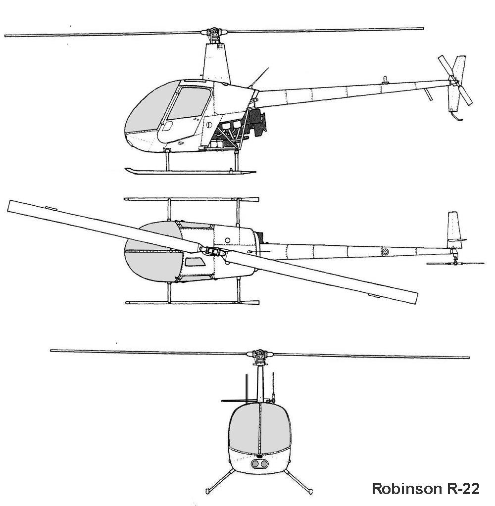 AviationsMilitaires.net — Robinson R22