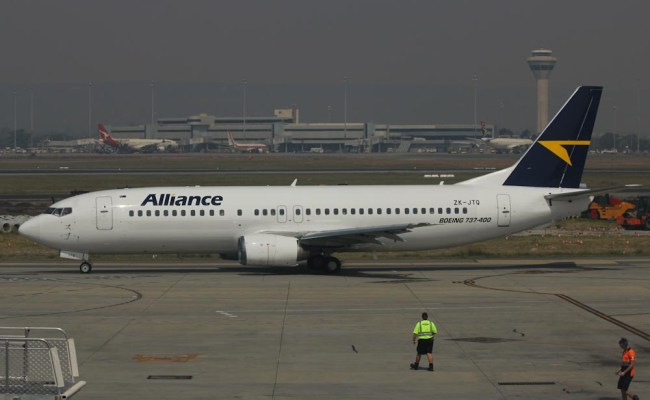 Alliance Airlines Operating Leased Boeing 737 476 Zk Jtq