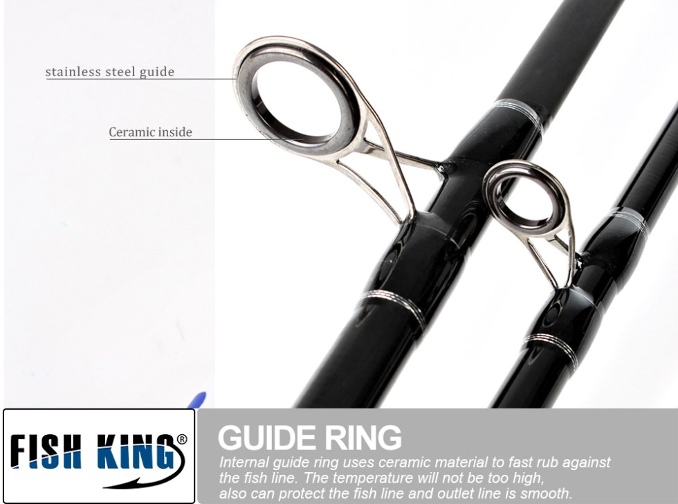 FISH KING Feeder High Carbon Super Power 3 Sections 3.6M 3.9M L M H Lure Weight 40-120g Feeder Fishing Rod Feeder Rod 16