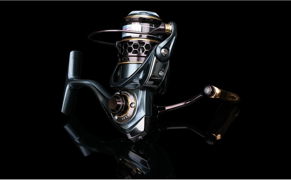 TSURINOYA Jaguar Series 1000 2000 3000 Double Spool Stainless Steel Bearing Ultra-light Lure Spinning Reel Rocky Fishing Reel 23