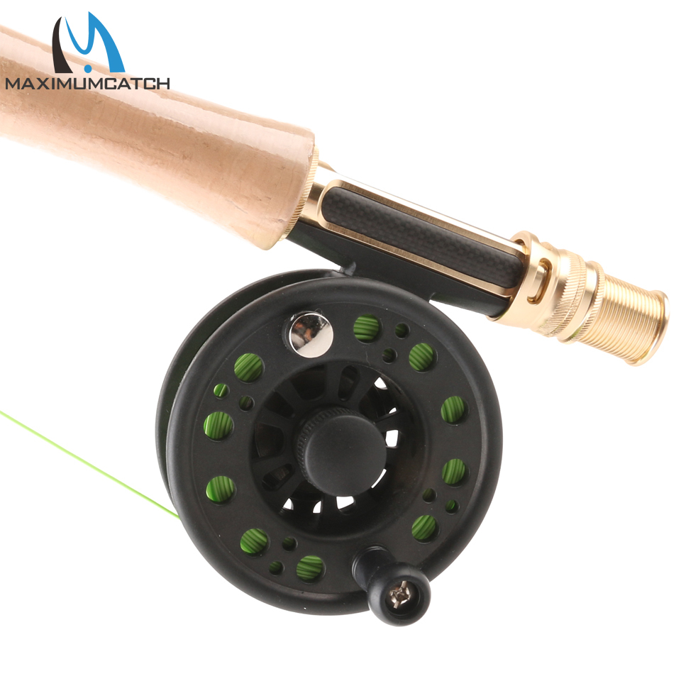 Maximumcatch 1-8WT Plastic Fly Fishing Reel Right Or Left Can Be Changed Plastic Fly Reel 7