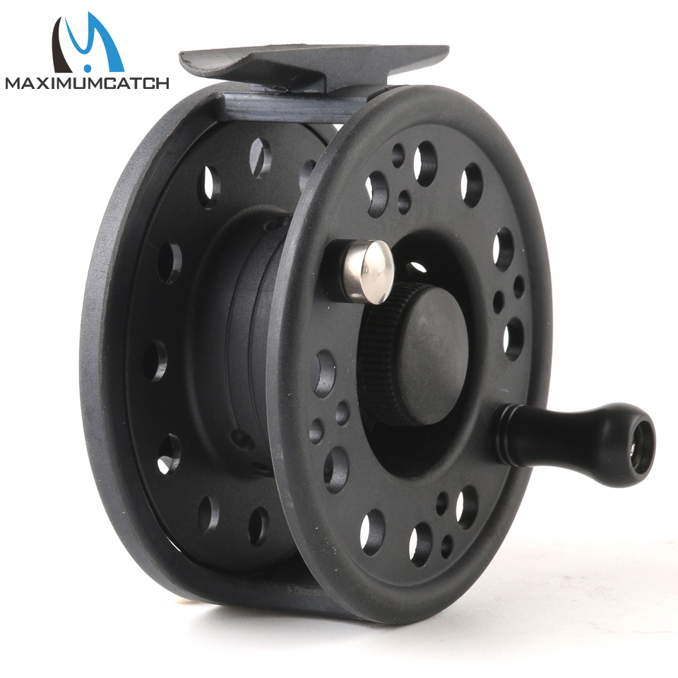 Maximumcatch 1-8WT Plastic Fly Fishing Reel Right Or Left Can Be Changed Plastic Fly Reel 6