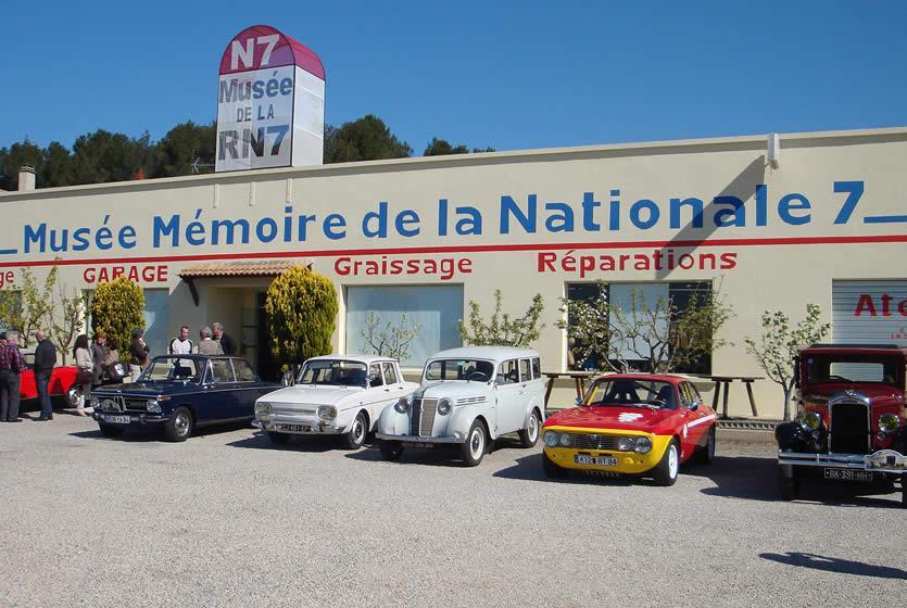 Muse Mmoire de la Nationale 7  Piolenc 84  Avignon et Provence