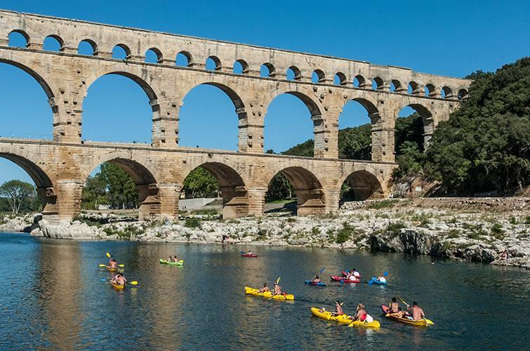 The Pont du Gard Aqueduct  Avignon et Provence