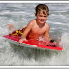 Kid Camping Chair Veranda Swing Body Board, Boogie Surf Boards, Wetsuit, Chair, Umbrellas And Other Rentals