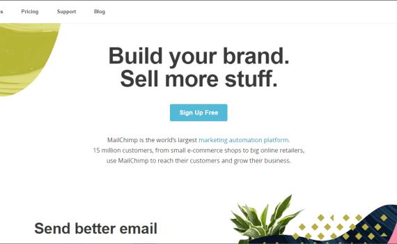 Digital Marketing Tool mailChimp