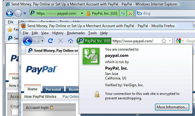ev ssl certificates in browsers