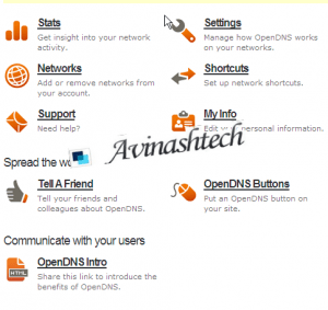 opendns-settings-page