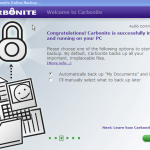 Backup your Files/Folders and computer online with Carbonite 2