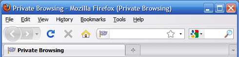 private browsing firefox3