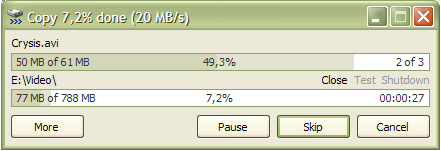 copy files faster