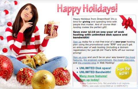Grab Dreamhost 1 Year Shared hosting package just for $9.24 1