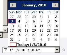 Calendar to Schedule Future Posts