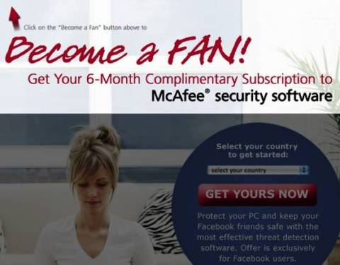 Grab 6 months McAfee Anti virus Plus subscription again For FREE 1