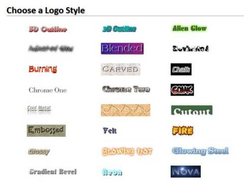 Create your logo and graphics online easily for FREE 2