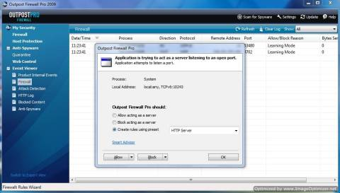 Review: Outpost Firewall and Giveaway of 1 year Genuine Licenses 2