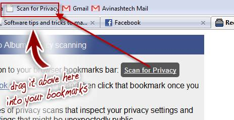 Scan and secure your Facebook privacy settings  1
