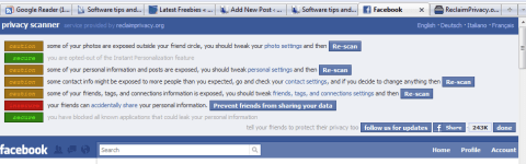Scan and secure your Facebook privacy settings  2