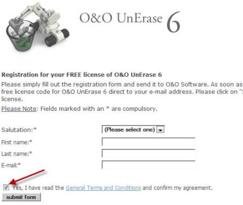 Grab O&O Unerase 6 license key/serial worth $29.95 for FREE 2