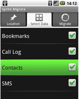 Transfer contacts2