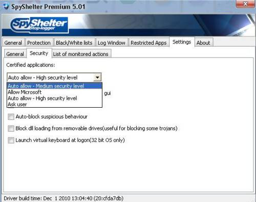 ABC 25: Spyshelter Anti keylogger Review and License Giveaway 6