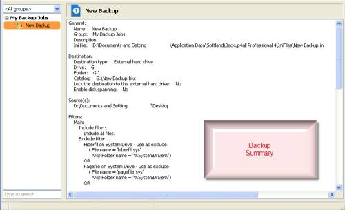ABC 22: Backup4all Pro review and License giveaway 3