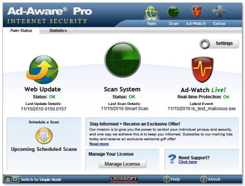 ABC 8: Ad-Aware Pro Internet security License Giveaway 1