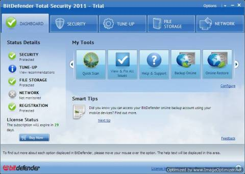 ABC 1- Bitdefender Total Security 2011 Review and Giveaway 4
