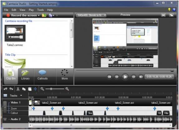 Camtasia: Screen Recording software License key Giveaway 1