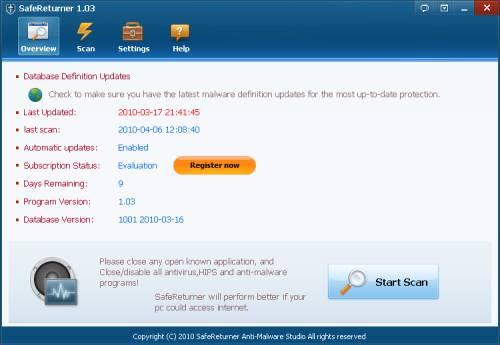 ABC 13: SafeReturner Anti-Malware License Giveaway 1
