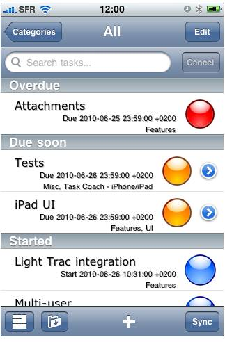 Task Coach: Free Task and To Do List Manager 4