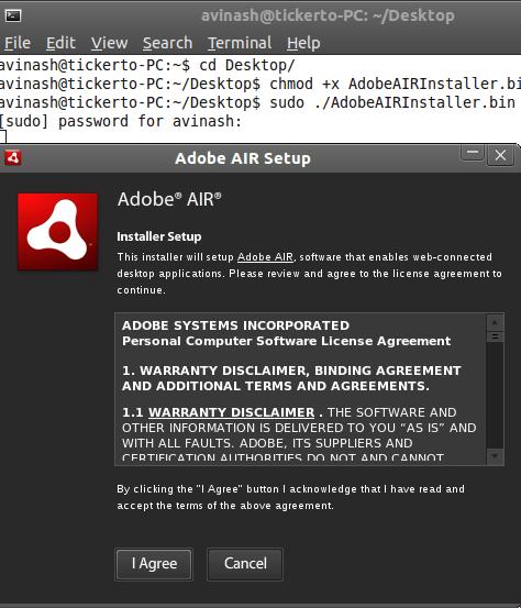 How to Install AIR & TweetDeck in Linux [Ubuntu] 2