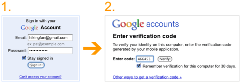 Enable Advanced sign-in security for your Google account 2