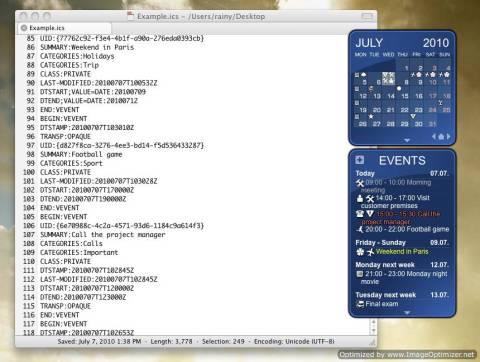 Rainlender: Customisable Calender with events and tasks on Desktop 4