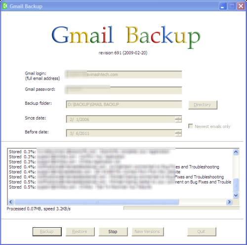 Five (5) ways to backup Gmail account 1