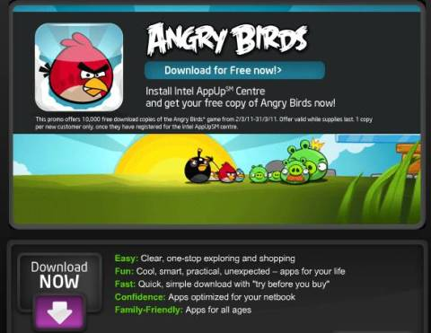Download Free Angry Birds Game for Windows 7, XP 7