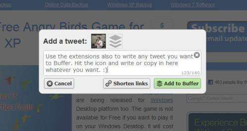 5 steps to tweet more efficiently - with Buffer [Review] 4