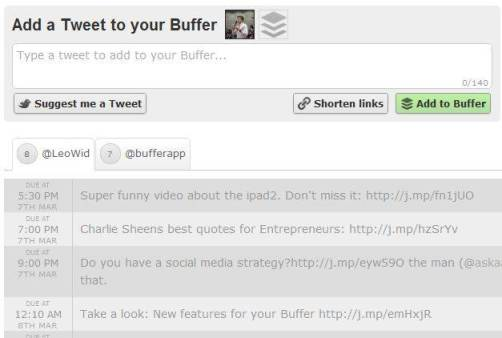 5 steps to tweet more efficiently - with Buffer [Review] 5
