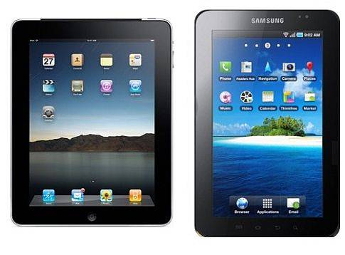 Apple iPad2 and Samsung Galaxy tab compared 2