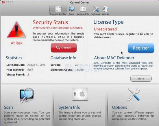 How to remove MacDefender, MacProtector or MacSecurity malware 1