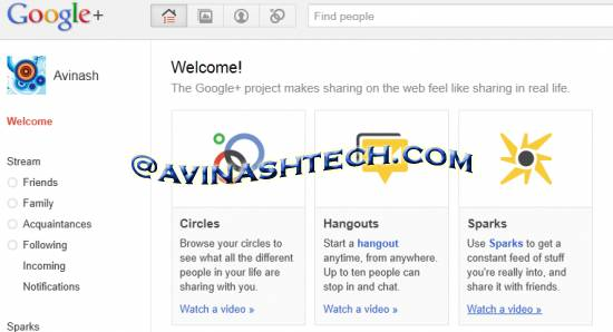 Google+: Facebook and twitter need to be worried? Perhaps yes 1