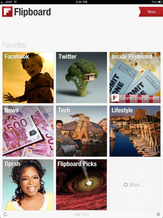 Flipboard: Best App for iPad, your personalised social magazine 1