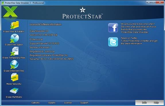 ProtectStar Data Shredder 3 Pro Review and 50 licenses Giveaway 2