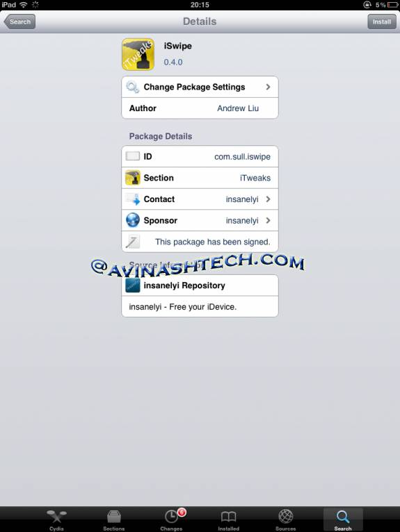 Install Swype on iPhone, iPad on iOS 5 [Jailbreak cydia App] 1