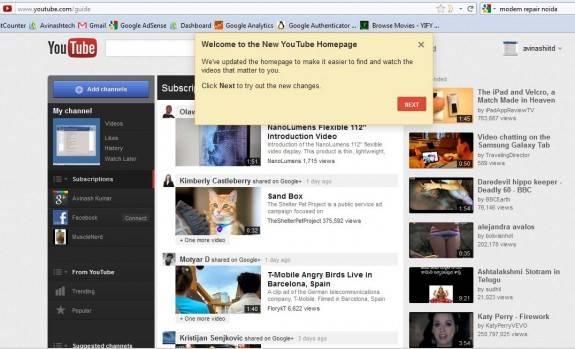 How to enable brand new YouTube Design 2