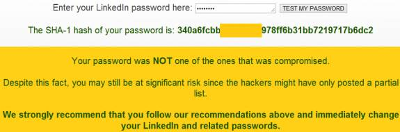 Linkedin Password hacked- lastpass tool