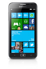Samsung unveils its first Windows 8 Phone ATIV S
