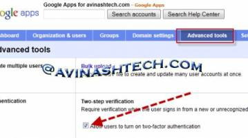 2 step google - How to enable two-step verification for Google Apps