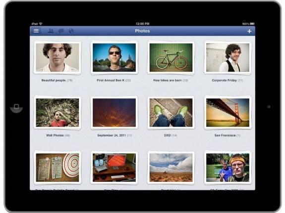 Facebook launches Facebook for iPad App finally