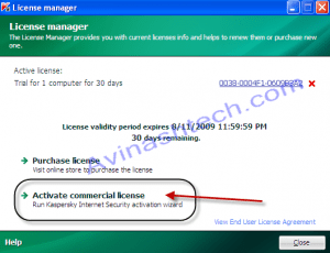 Kaspersky removes license activation by keyfile with 2010 versions